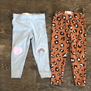 Cotton On kids leggings bundle